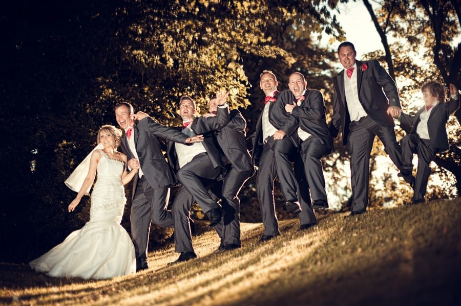 Wedding Photographer Wales @ Maes Manor Blackwood 14