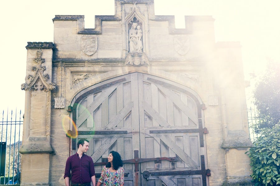 Pre Wedding Photography in Oxford @ Magdalen College - Chamila & Richard 28