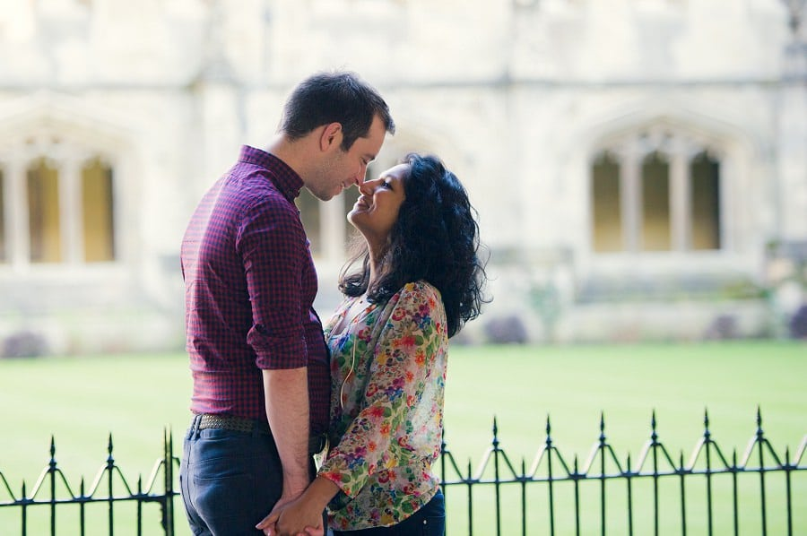 Pre Wedding Photography in Oxford @ Magdalen College - Chamila & Richard 4