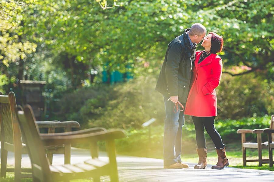 Carolina & David's Pre Wedding Photography @ Clyne Gardens, Swansea 5