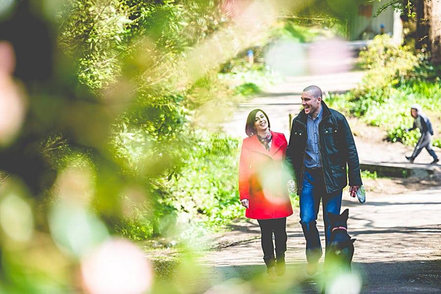 Carolina & David's Pre Wedding Photography @ Clyne Gardens, Swansea 12