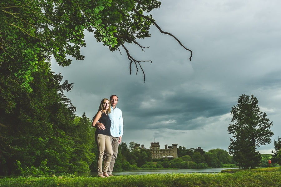 JL3 1796 - Louise & Nick's Pre Wedding Photography @ Eastnor Castle Ledbury | Herefordshire Photographers