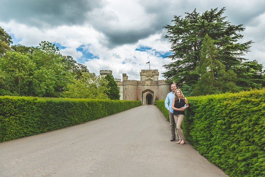 JL8 3434 - Louise & Nick's Pre Wedding Photography @ Eastnor Castle Ledbury | Herefordshire Photographers