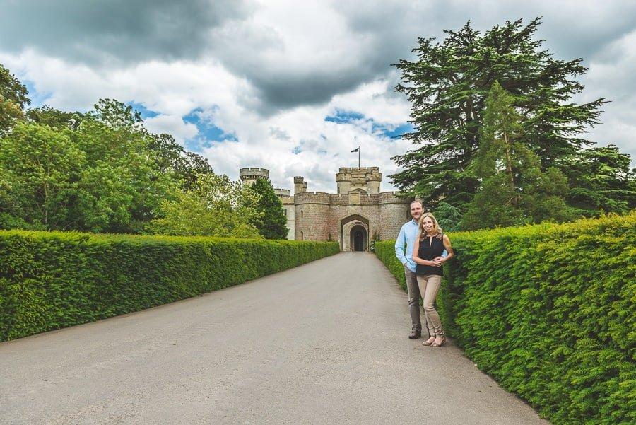 Louise & Nick's Pre Wedding Photography @ Eastnor Castle Ledbury | Herefordshire Photographers 1