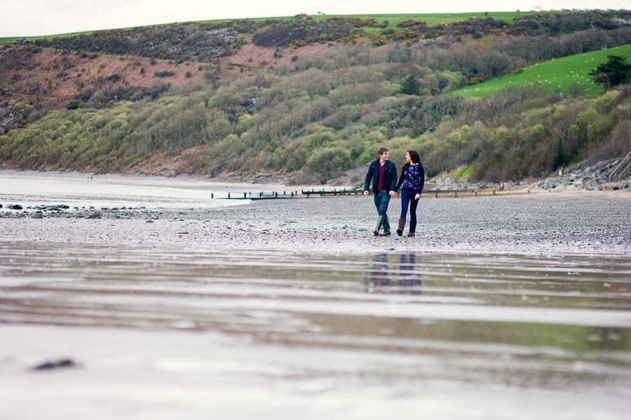 JLP 0814 - Laura & Owain's Pre Wedding Photography in New Quay Ceredigion, Wales