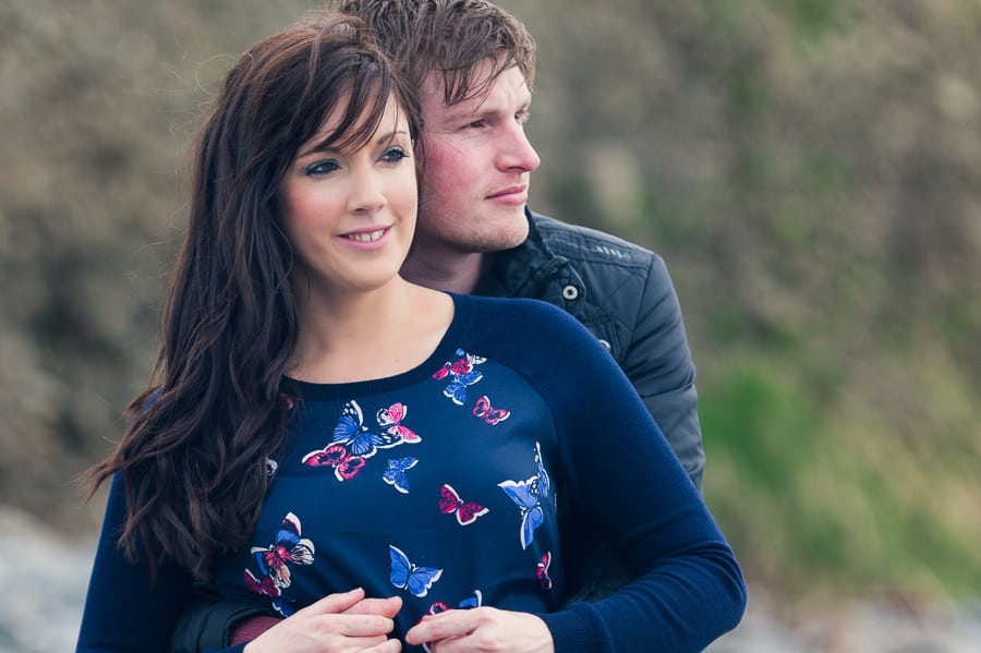 JLP 0892 - Laura & Owain's Pre Wedding Photography in New Quay Ceredigion, Wales