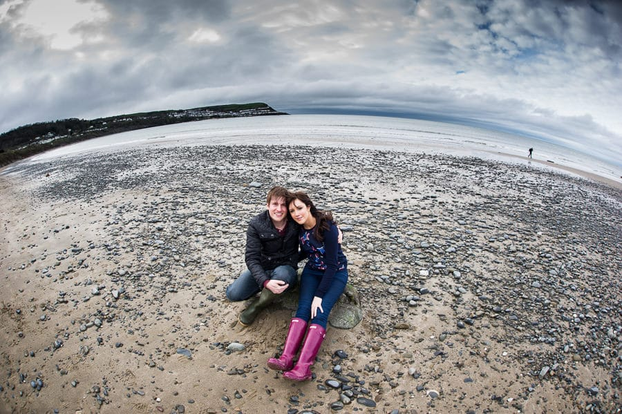 JLP 0920 - Laura & Owain's Pre Wedding Photography in New Quay Ceredigion, Wales