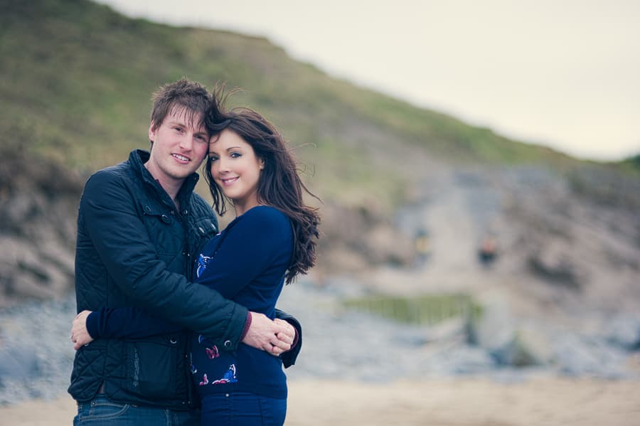 JLP 0944 - Laura & Owain's Pre Wedding Photography in New Quay Ceredigion, Wales