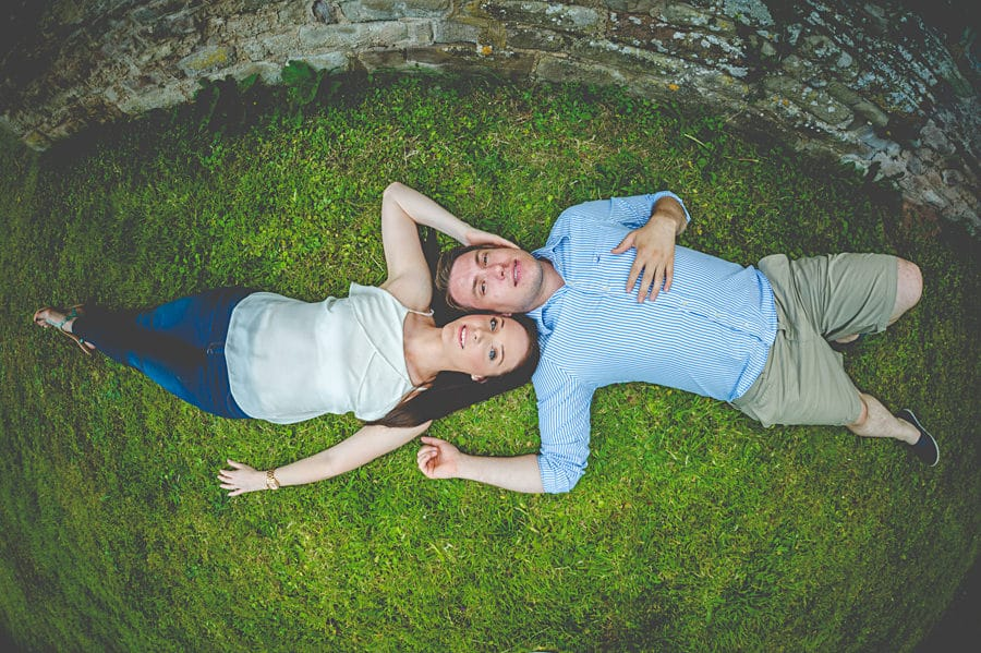 JL3 1047 - Sian & David's Engagement Session at The Ruined Church in Llanwarne in Herefordshire, West Midlands
