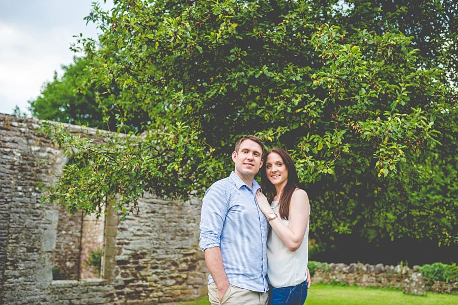 JL3 1074 - Sian & David's Engagement Session at The Ruined Church in Llanwarne in Herefordshire, West Midlands