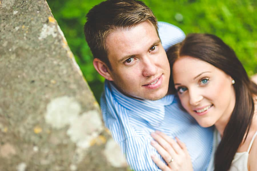 JL3 1158 - Sian & David's Engagement Session at The Ruined Church in Llanwarne in Herefordshire, West Midlands