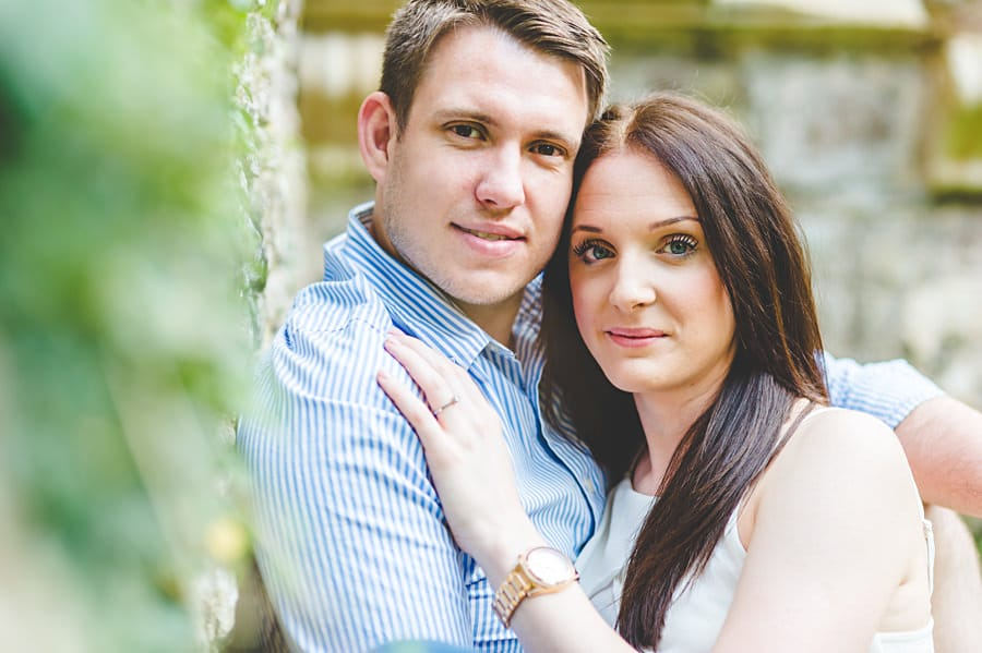 JL3 1180 - Sian & David's Engagement Session at The Ruined Church in Llanwarne in Herefordshire, West Midlands
