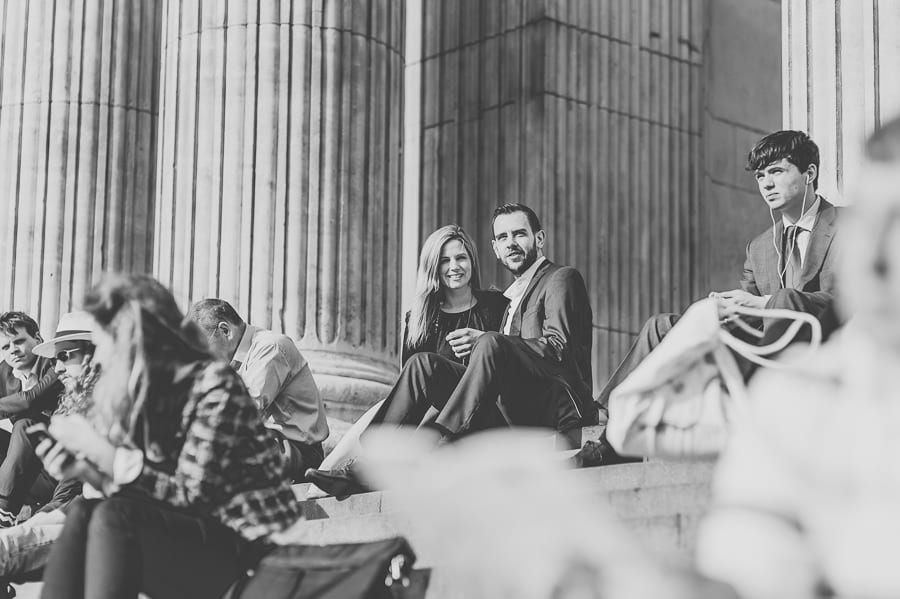 JL3 1826 - Rebecca & Dan's Pre-wedding photography in London @ St. Paul's Cathedral