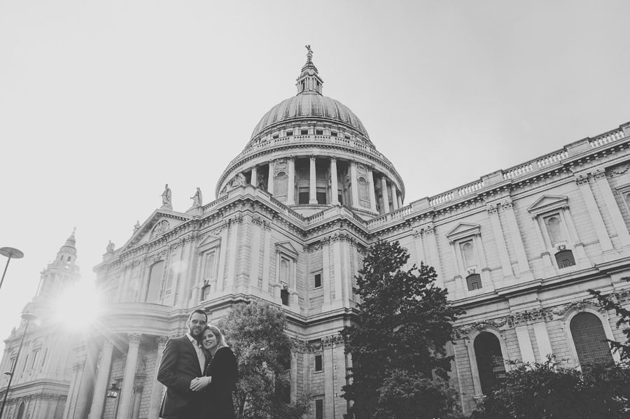 JL3 2243 - Rebecca & Dan's Pre-wedding photography in London @ St. Paul's Cathedral