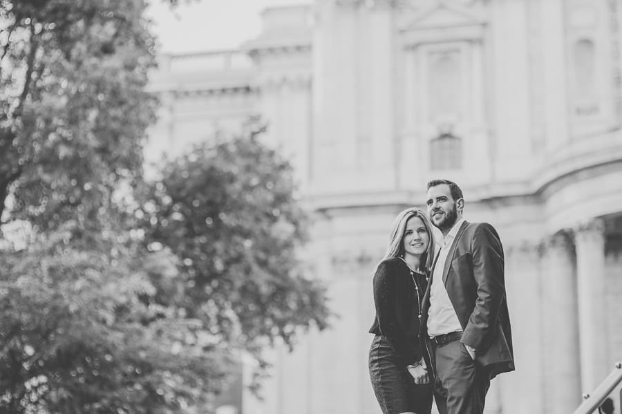 JL3 2262 - Rebecca & Dan's Pre-wedding photography in London @ St. Paul's Cathedral