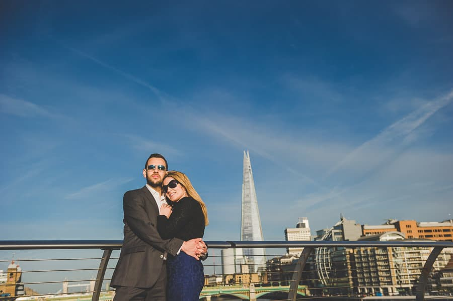JL3 2312 - Rebecca & Dan's Pre-wedding photography in London @ St. Paul's Cathedral