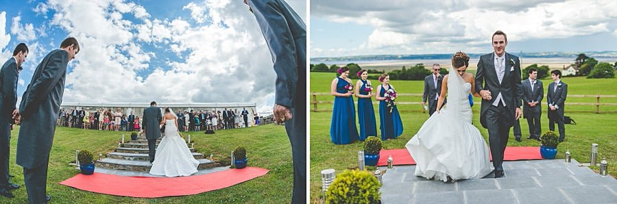 0366b1 - Wedding Photography at Ocean View Windmill Gower, Glamorgan | Photographers Swansea, Wales