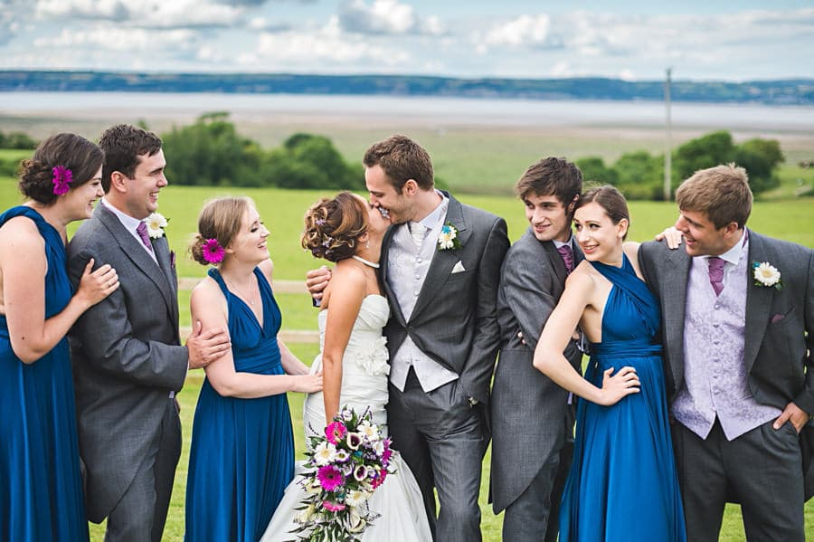 Wedding Photography at Ocean View Windmill Gower, Glamorgan | Photographers Swansea, Wales 180