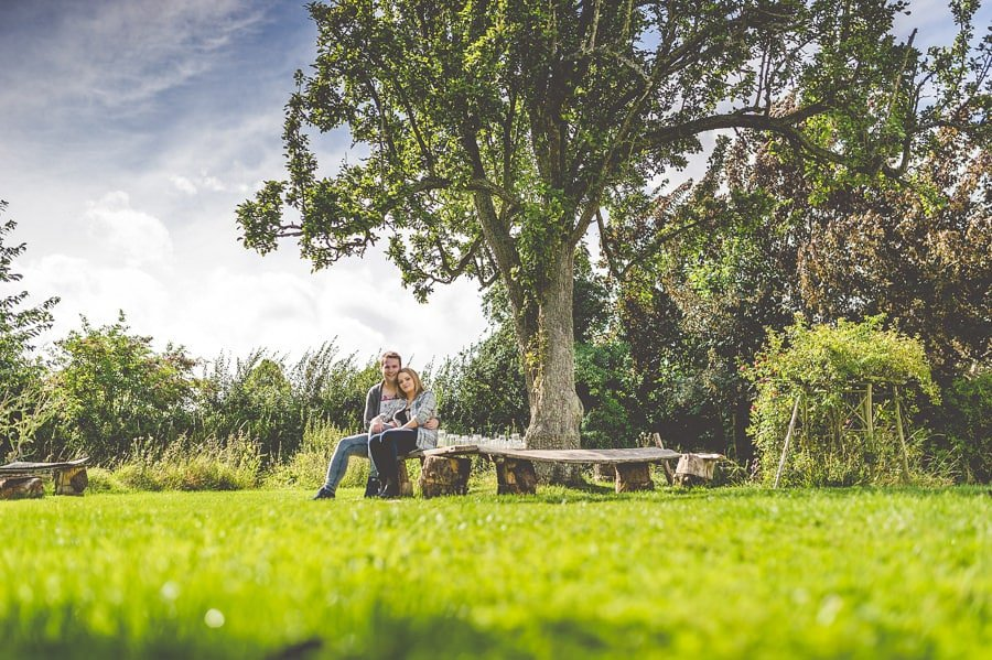 Rachael and Andy's Pre-Wedding Photography @ Lyde Court in Herefordshire, West Midlands 12