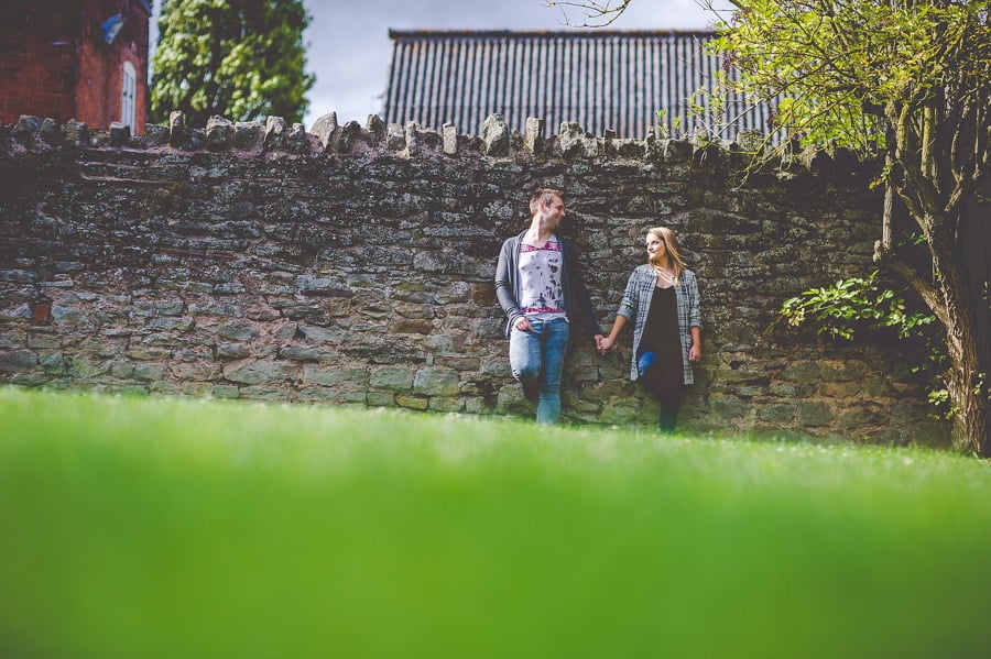 Rachael and Andy's Pre-Wedding Photography @ Lyde Court in Herefordshire, West Midlands 19