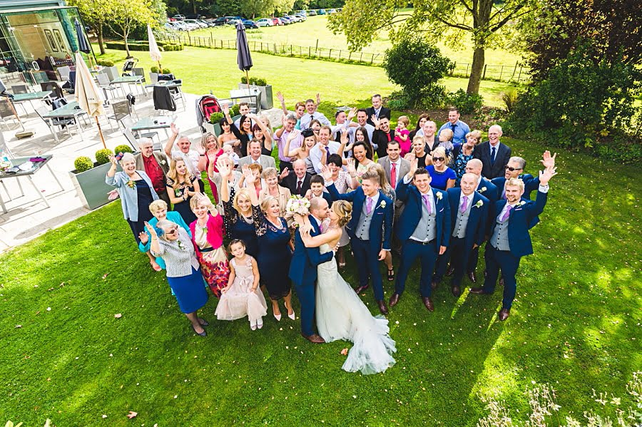0591 - The Bishopstrow Hotel Wedding in Warminster, Wiltshire | Joanna + Rob