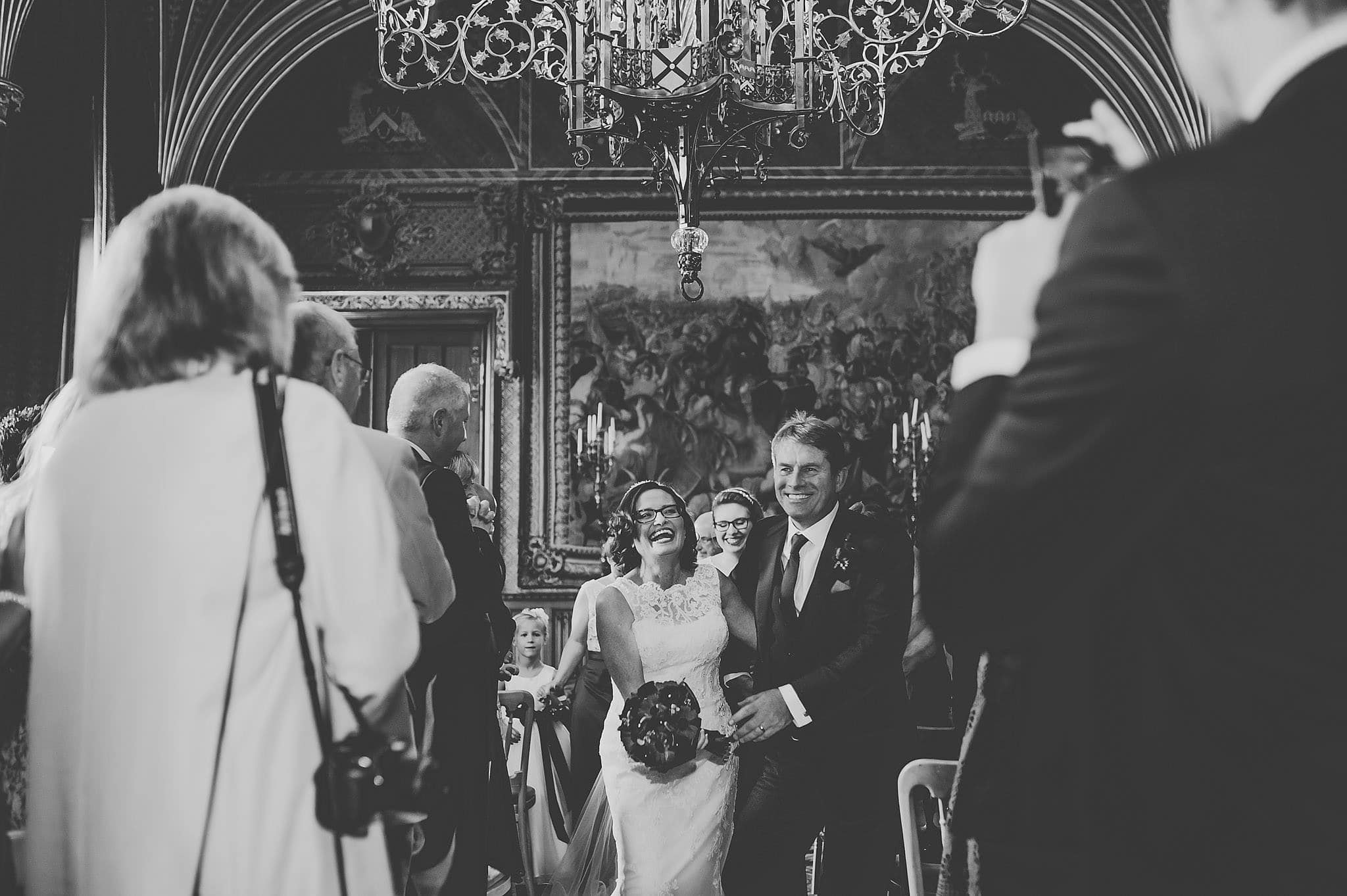 Wedding photography at Eastnor Castle in Herefordshire | Christine + Martin 1