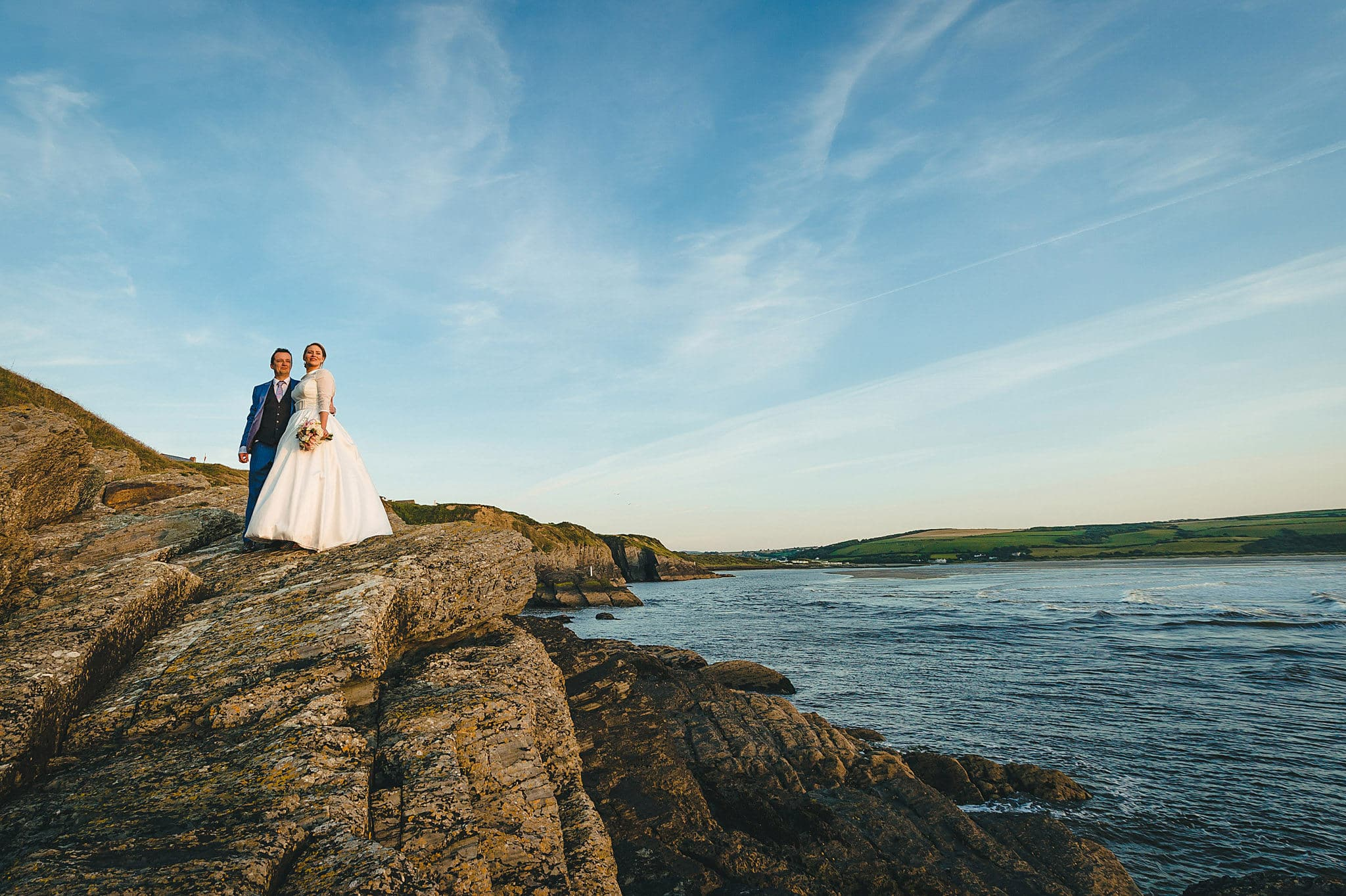 Wedding Photographer Cardigan Wales – Wedding Fayre Cliff Hotel – Gwbert 1