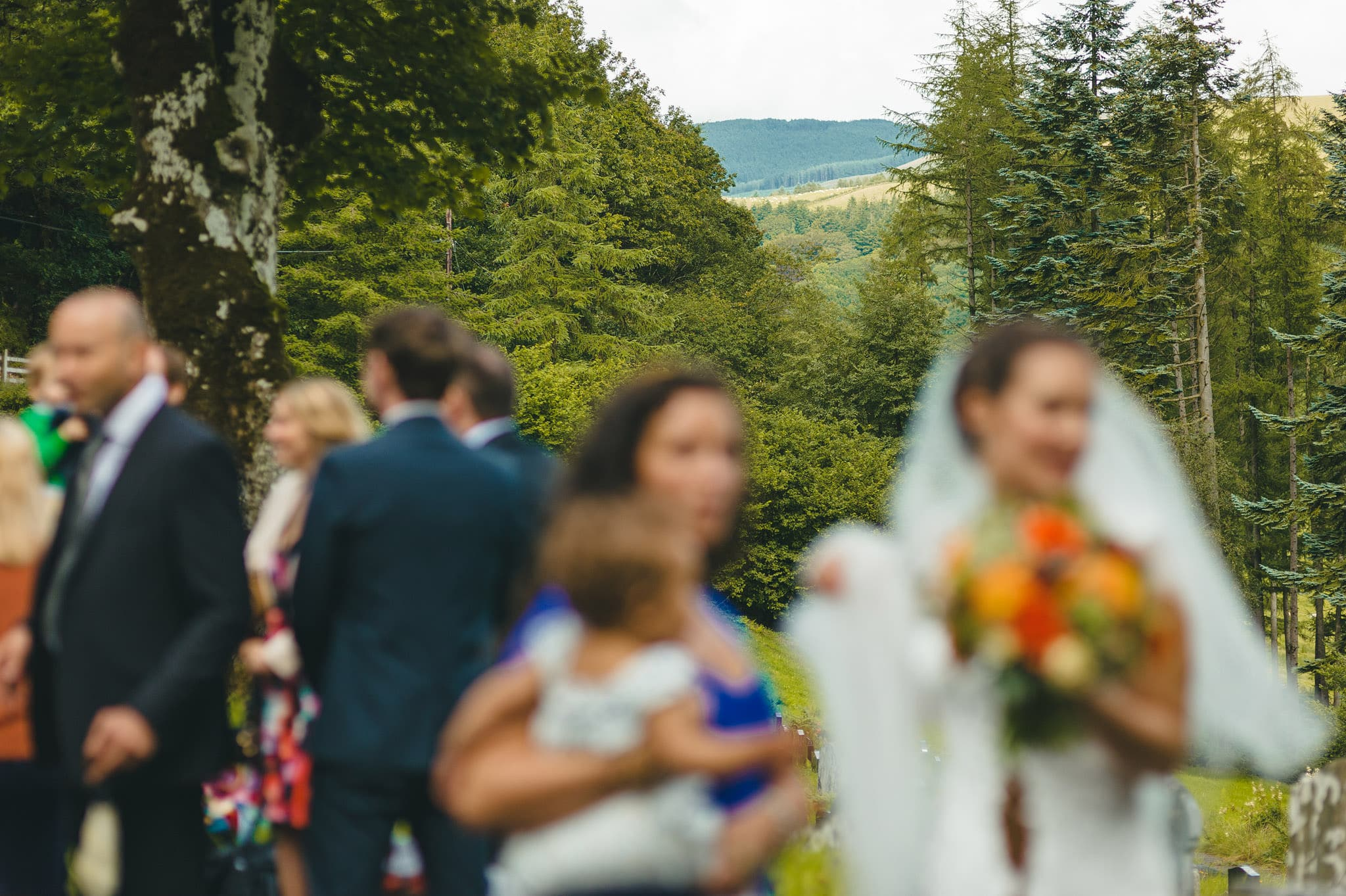 Wedding photography at Y Talbot Hotel in Tregaron, Wales | Tina + Phil 30