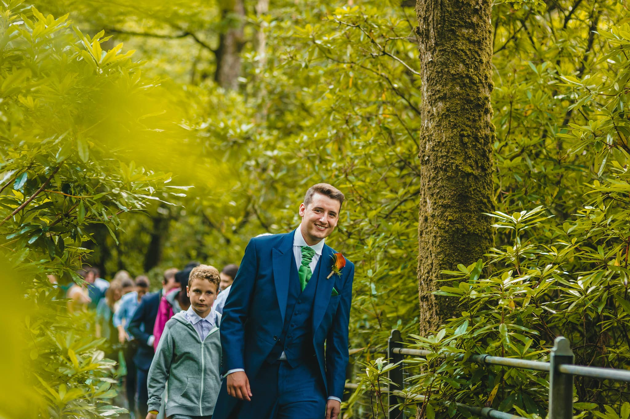 Wedding photography at Y Talbot Hotel in Tregaron, Wales | Tina + Phil 37