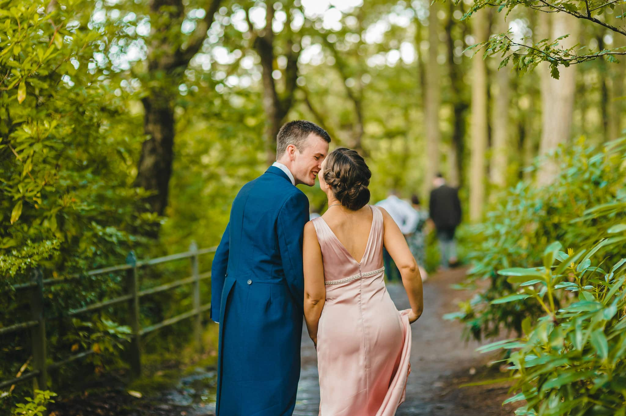 Wedding photography at Y Talbot Hotel in Tregaron, Wales | Tina + Phil 38