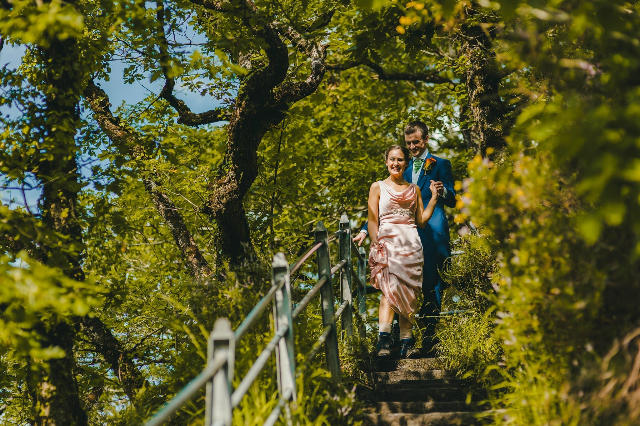 Wedding photography at Y Talbot Hotel in Tregaron, Wales | Tina + Phil 41