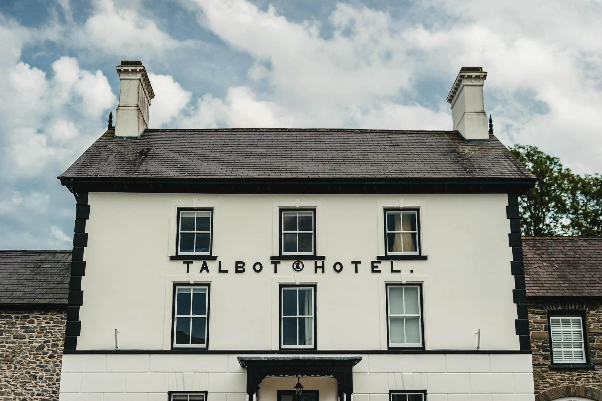 Wedding photography at Y Talbot Hotel in Tregaron, Wales | Tina + Phil 49