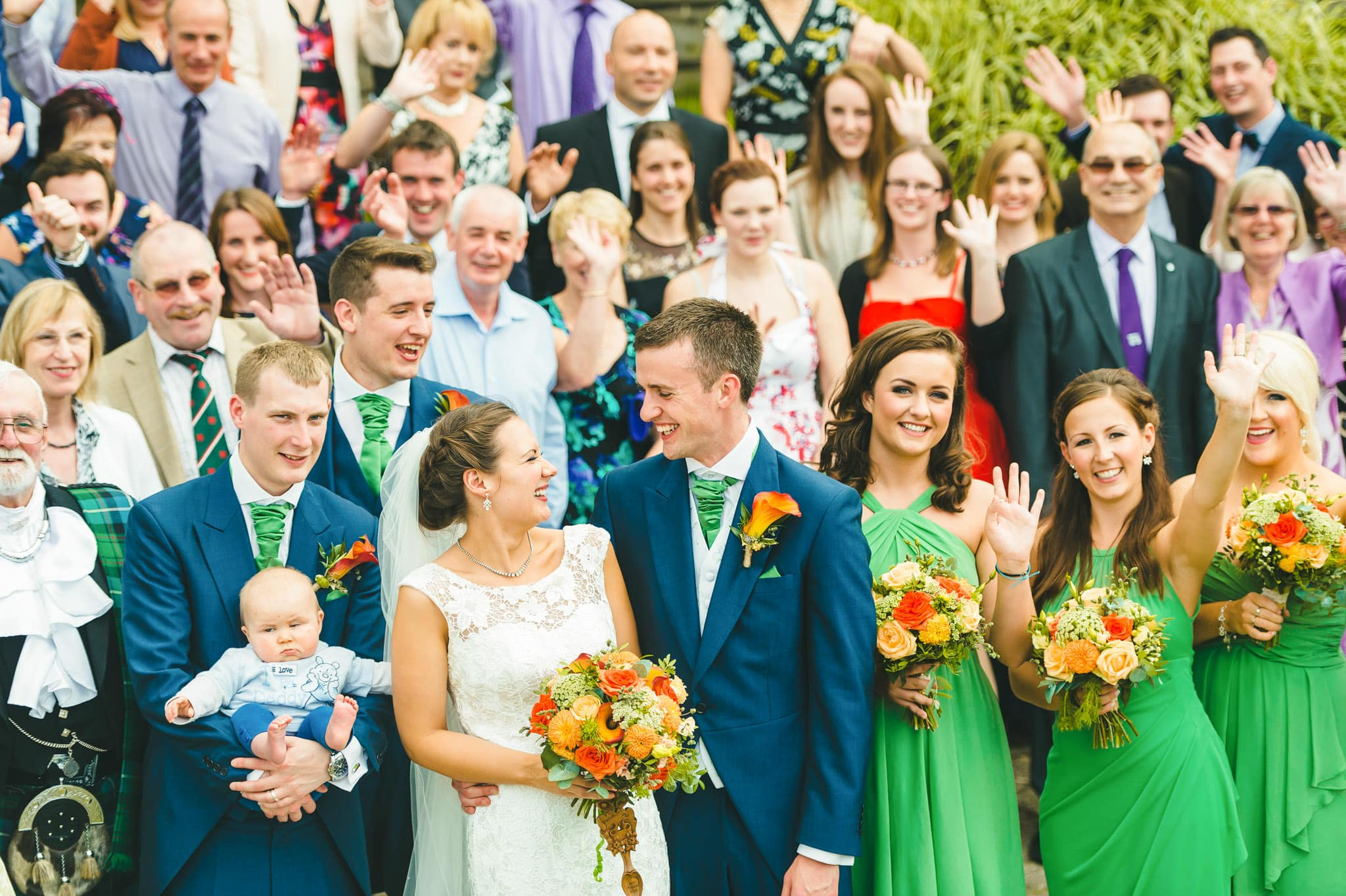 Wedding photography at Y Talbot Hotel in Tregaron, Wales | Tina + Phil 56