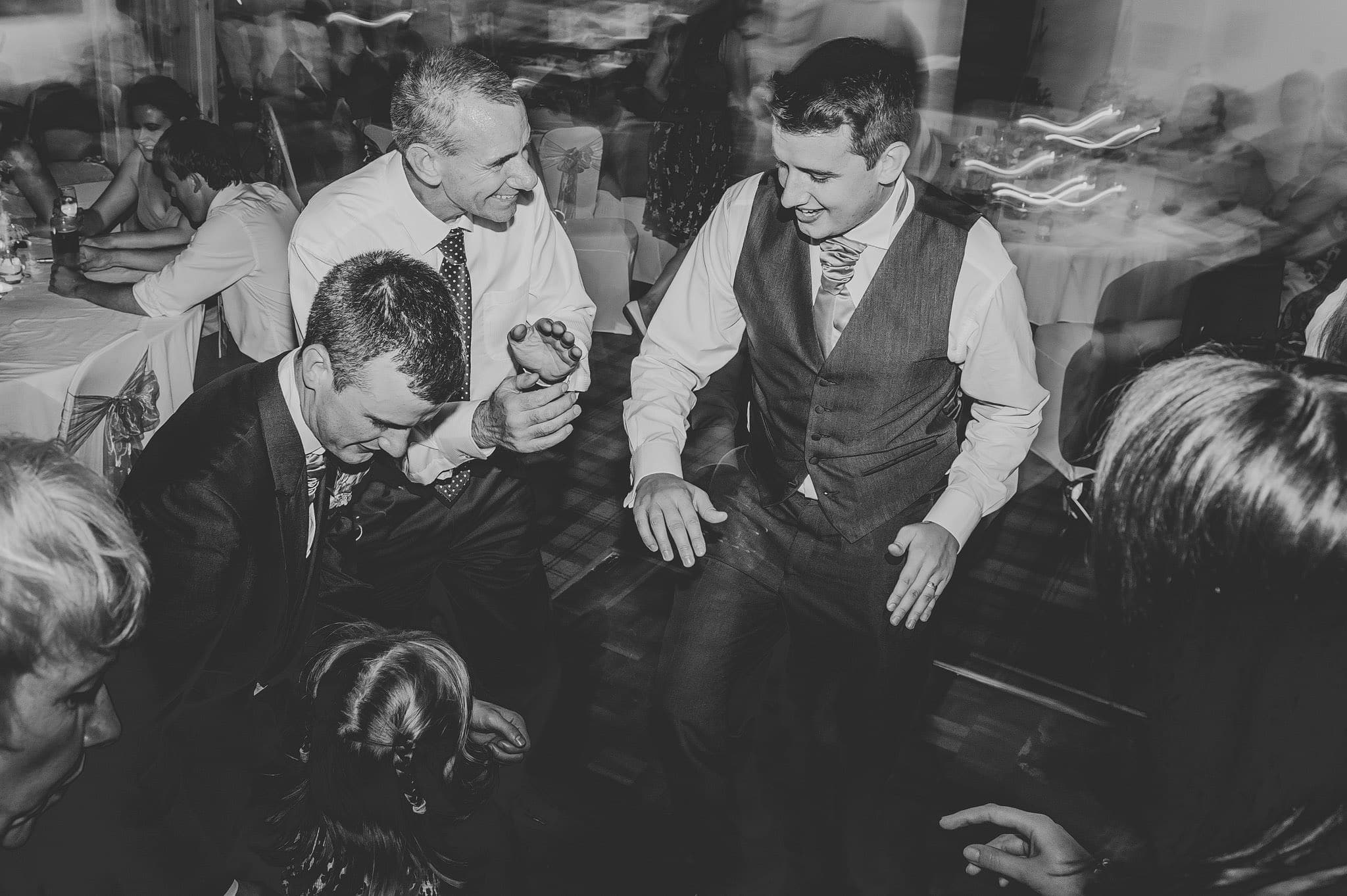 Wedding photography at Y Talbot Hotel in Tregaron, Wales | Tina + Phil 65
