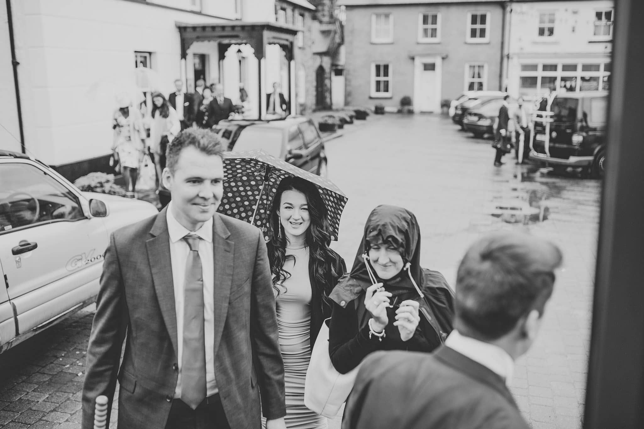 Wedding photography at Y Talbot Hotel in Tregaron, Wales | Tina + Phil 12