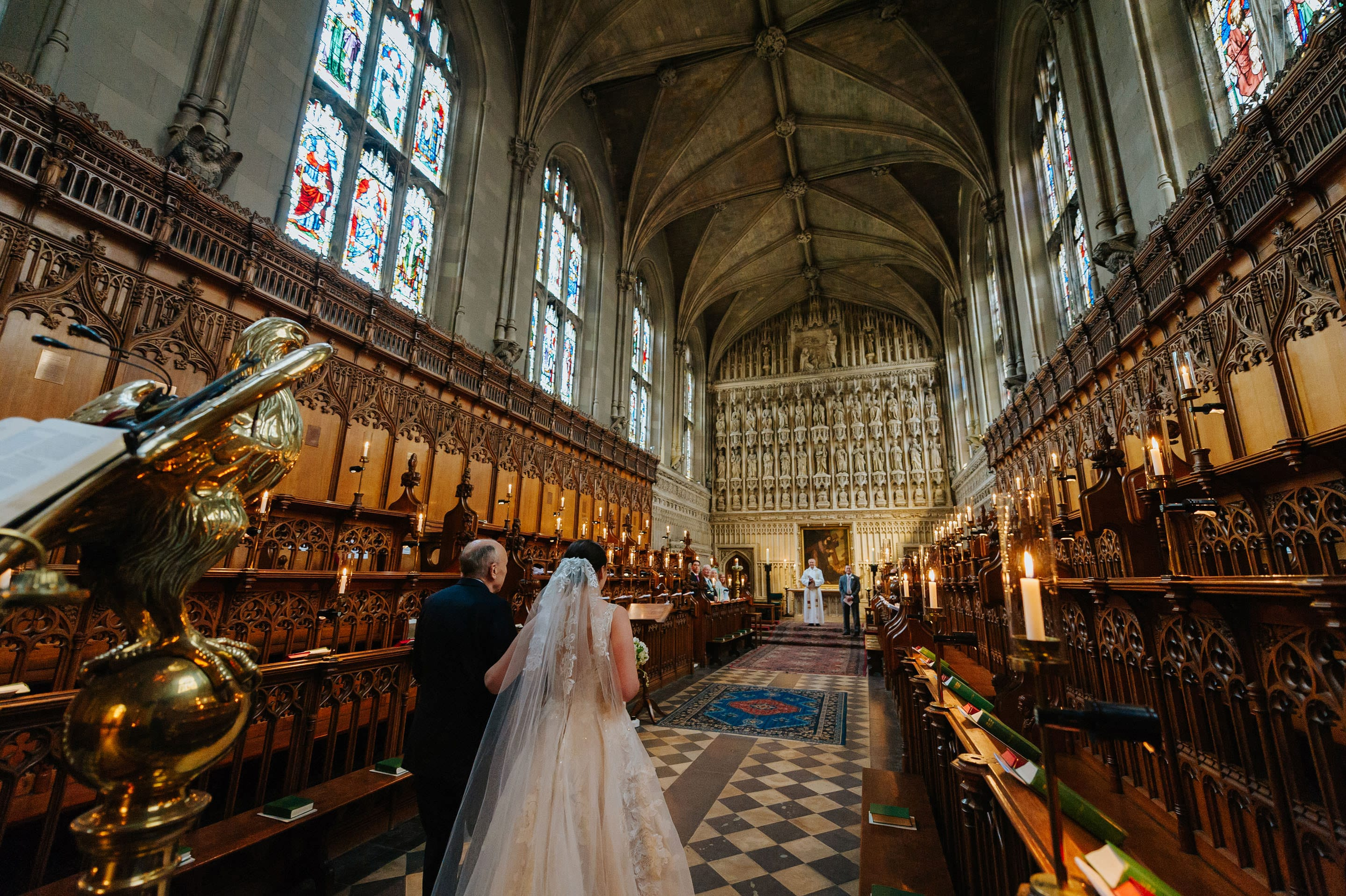 Tommie + Virginia | Wedding at Magdalen College in Oxford 6