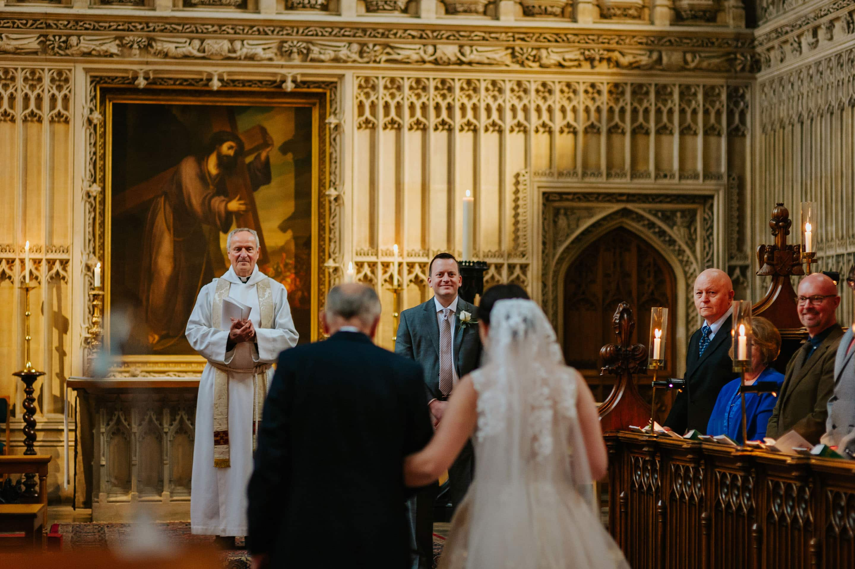 wedding at magdalen college in oxford 22 - Tommie + Virginia | Wedding at Magdalen College in Oxford