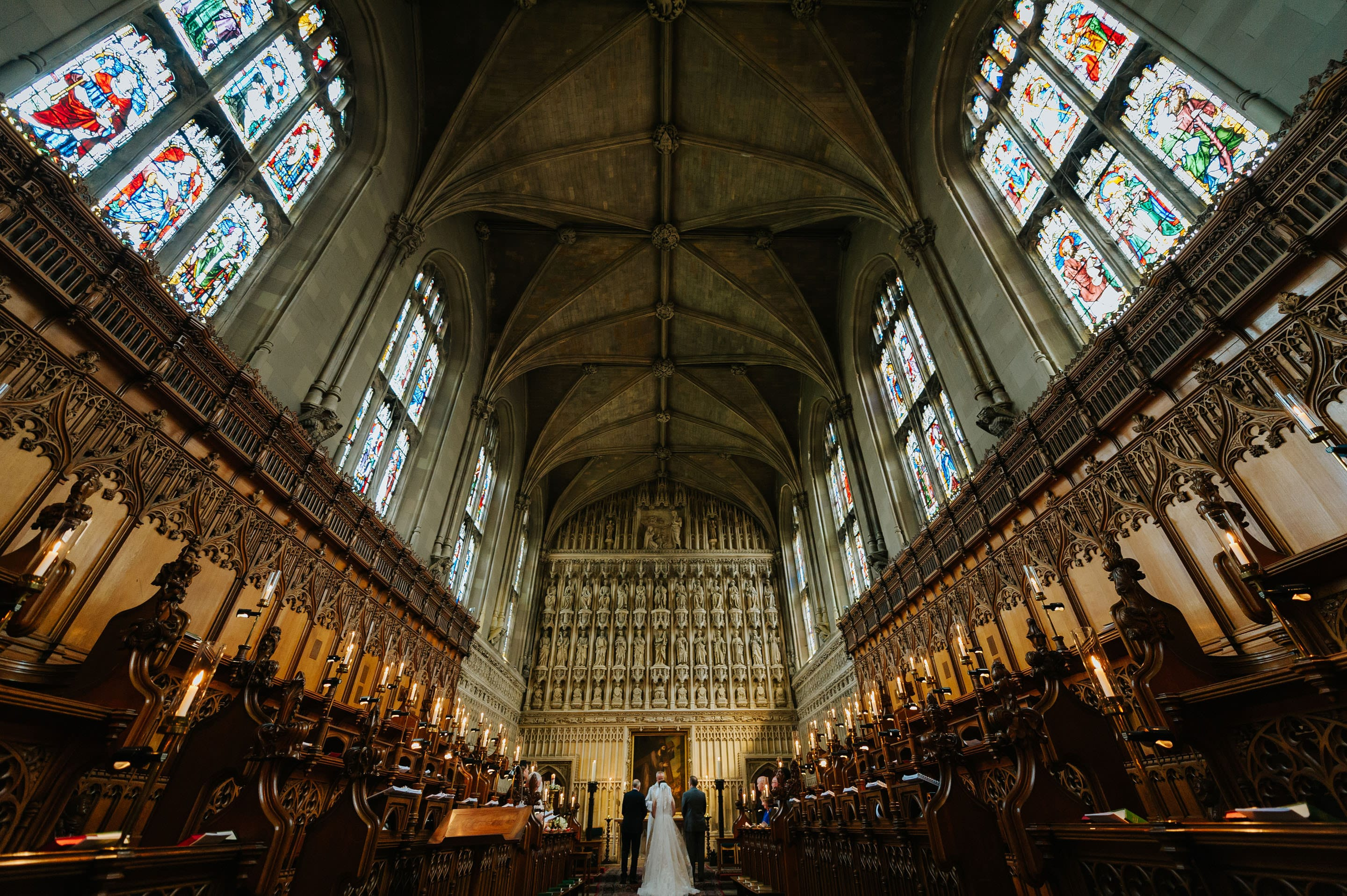 Tommie + Virginia | Wedding at Magdalen College in Oxford 9