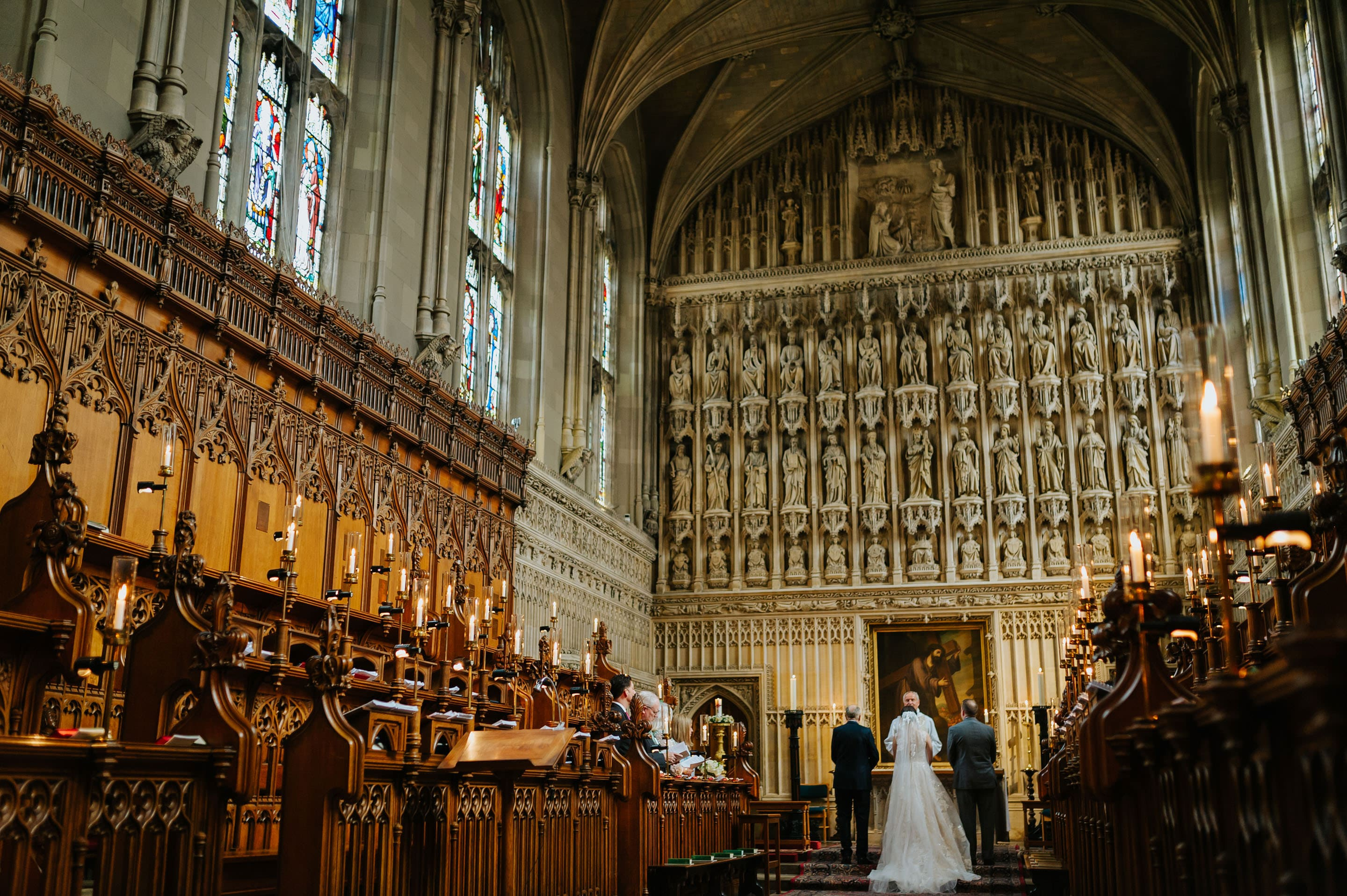 Tommie + Virginia | Wedding at Magdalen College in Oxford 11