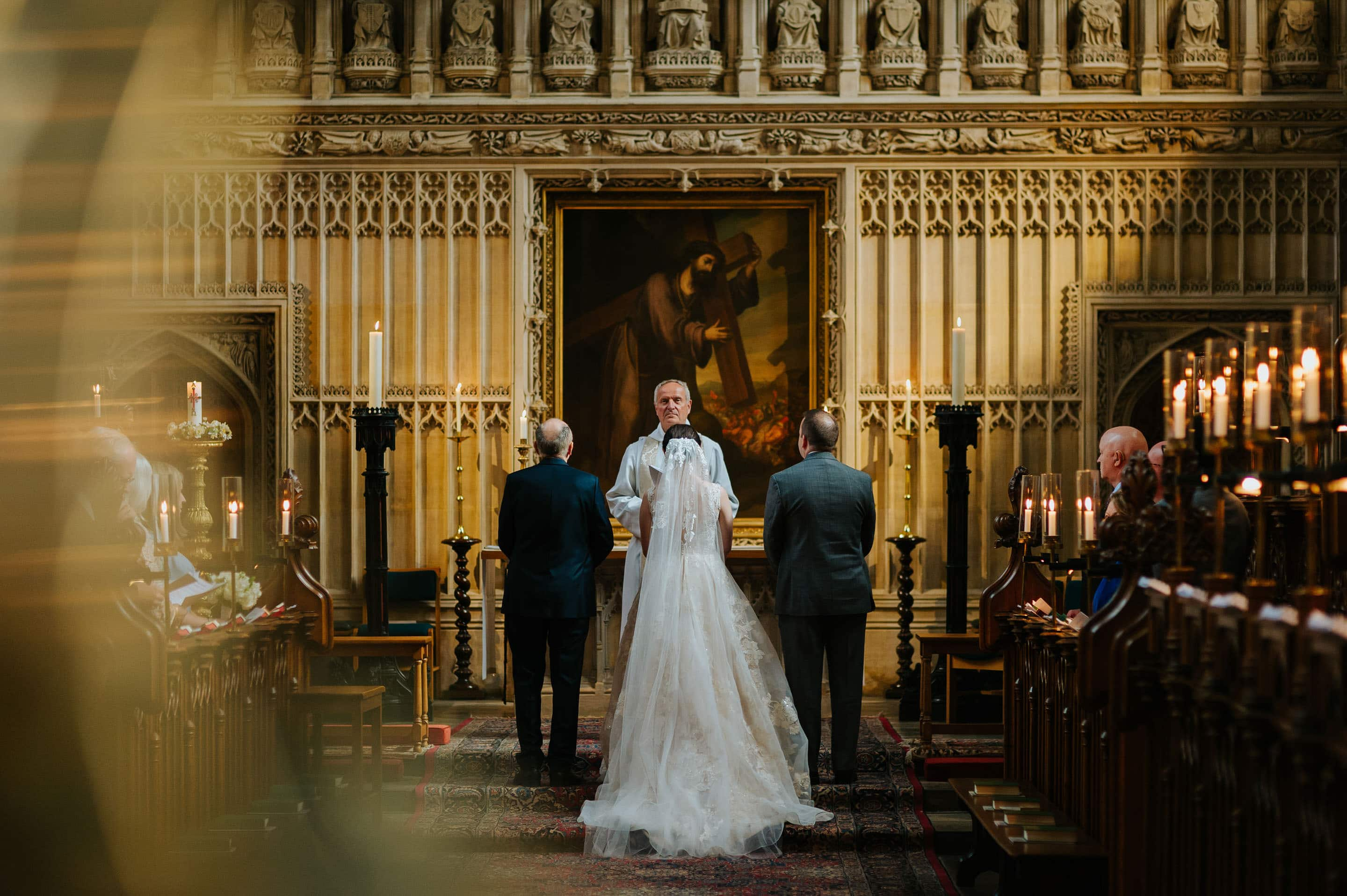 Tommie + Virginia | Wedding at Magdalen College in Oxford 12