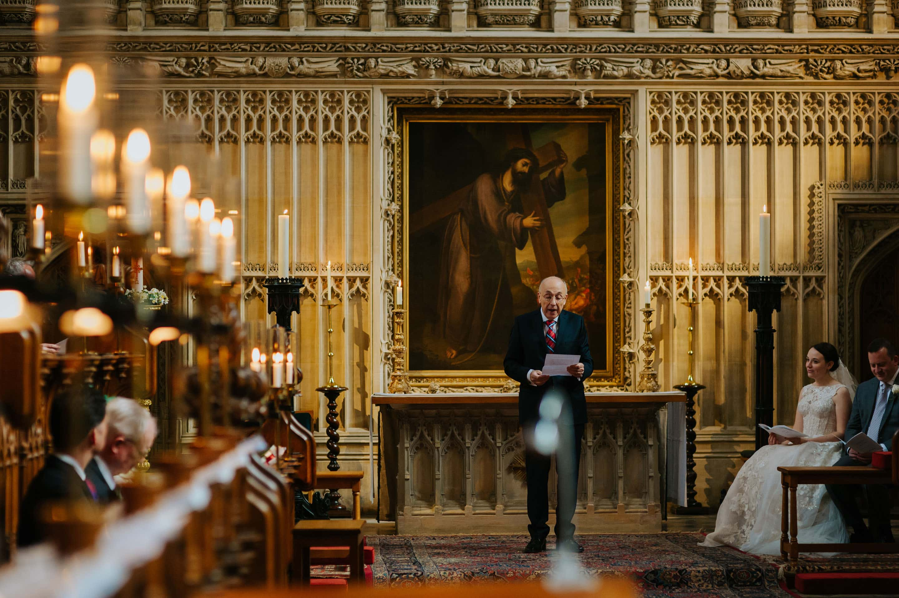 Tommie + Virginia | Wedding at Magdalen College in Oxford 14