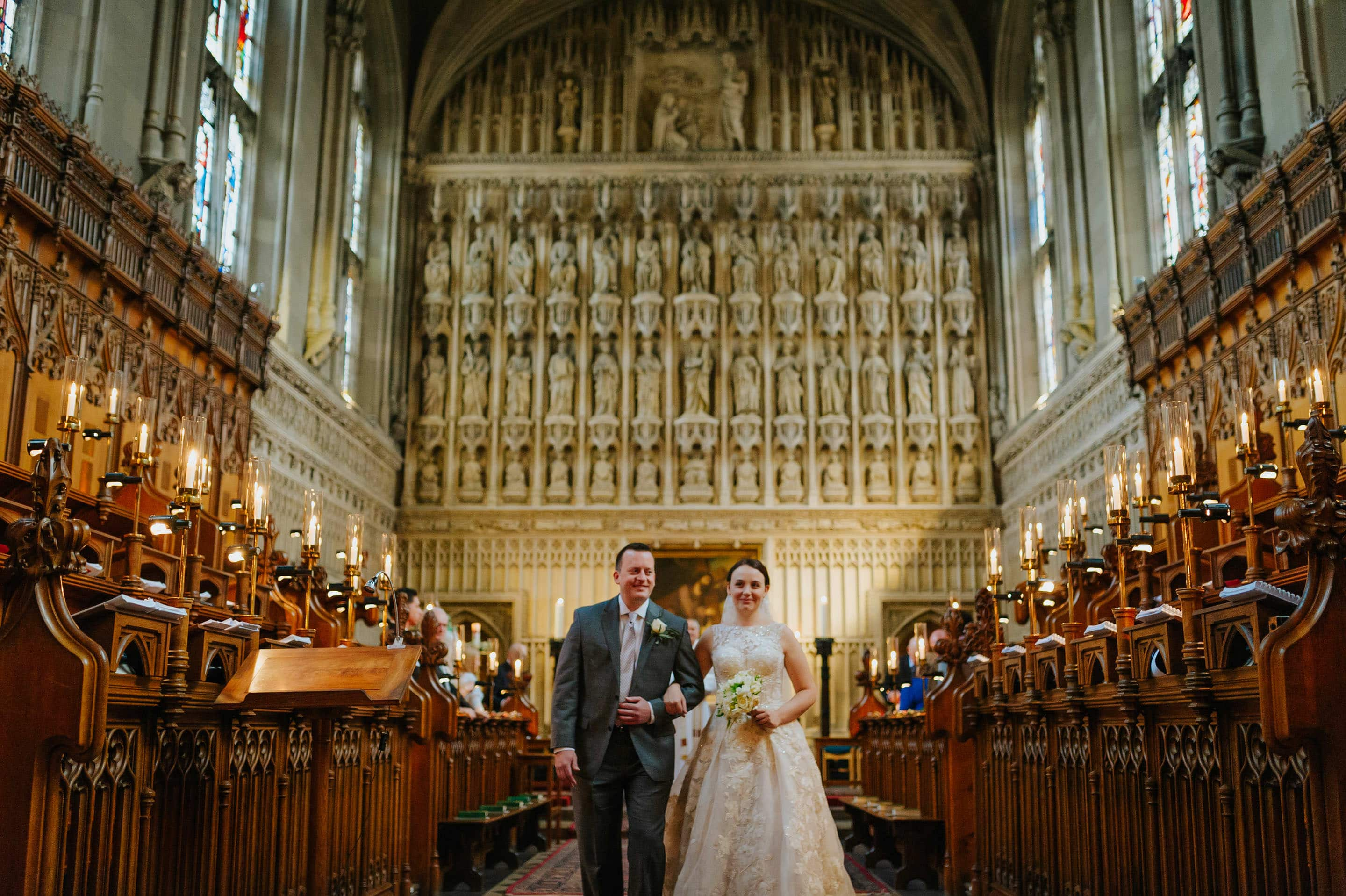 Tommie + Virginia | Wedding at Magdalen College in Oxford 17