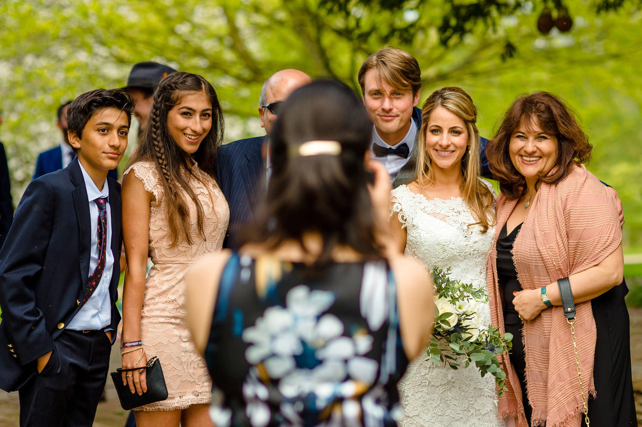Tom + Shadi | Dewsall Court Wedding 122