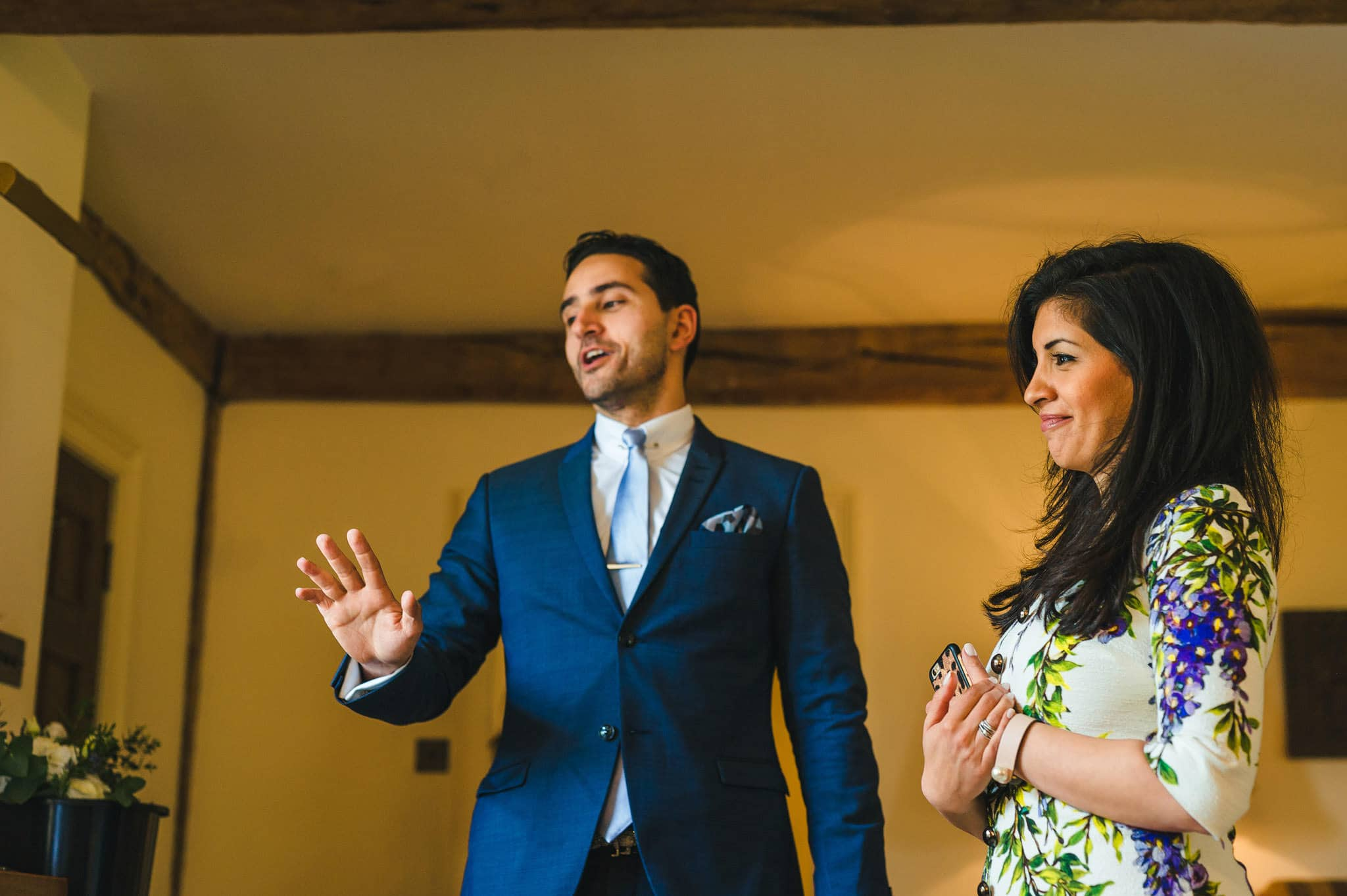 Tom + Shadi | Dewsall Court Wedding 44