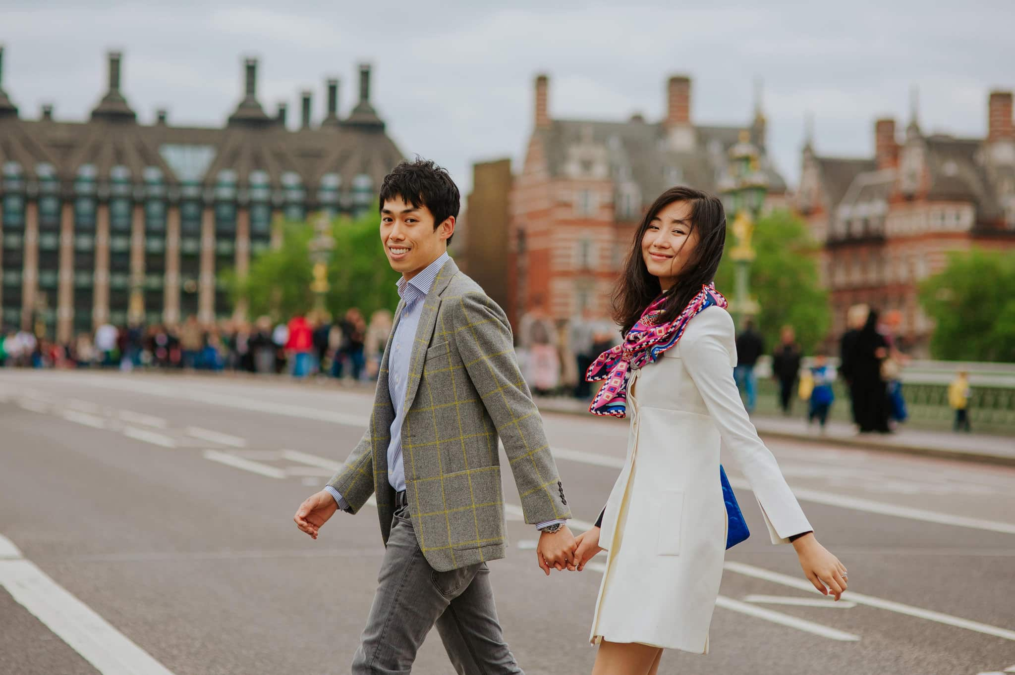 Yilin + Jason | London engagement session 2