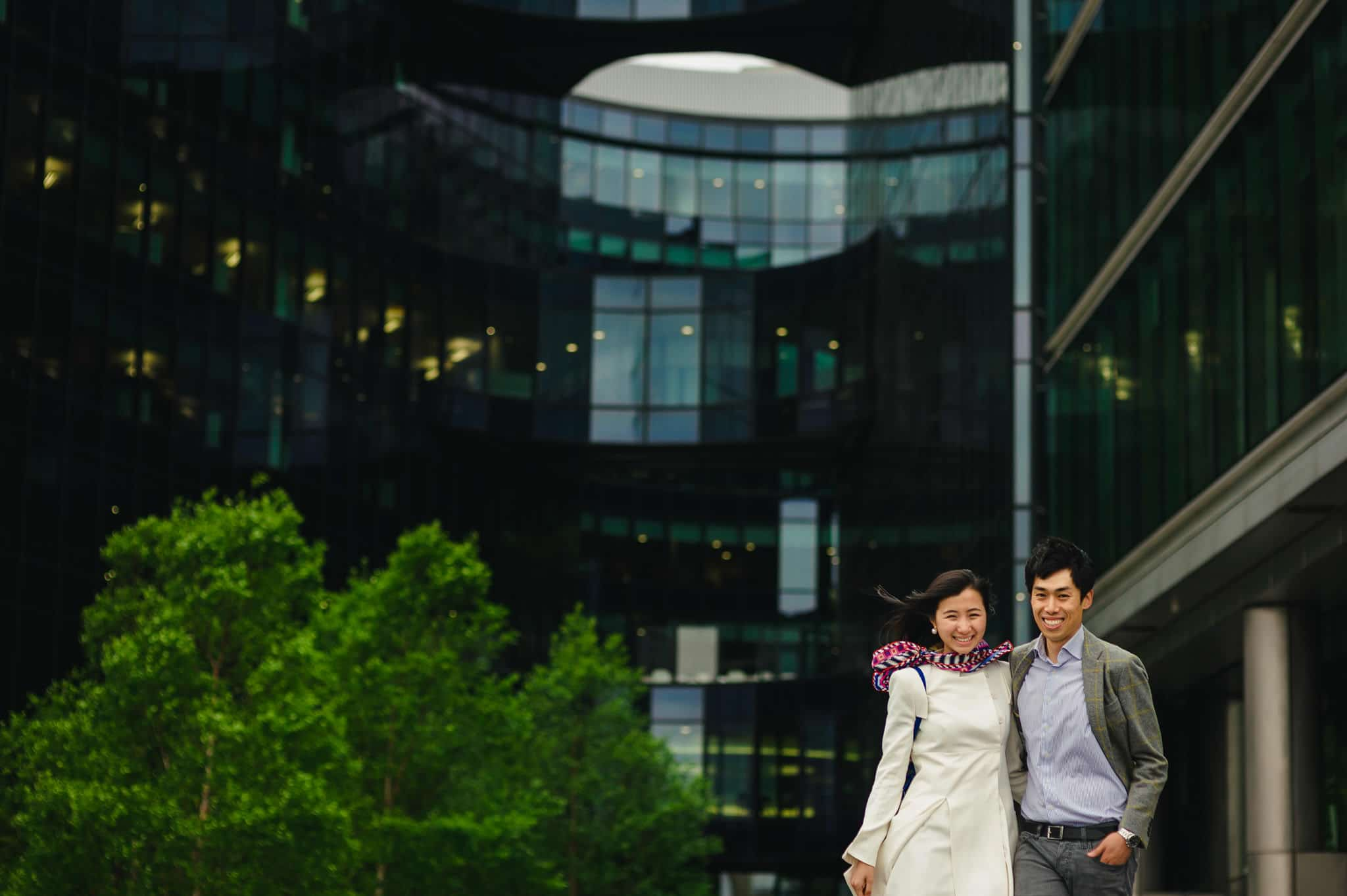 Yilin + Jason | London engagement session 11