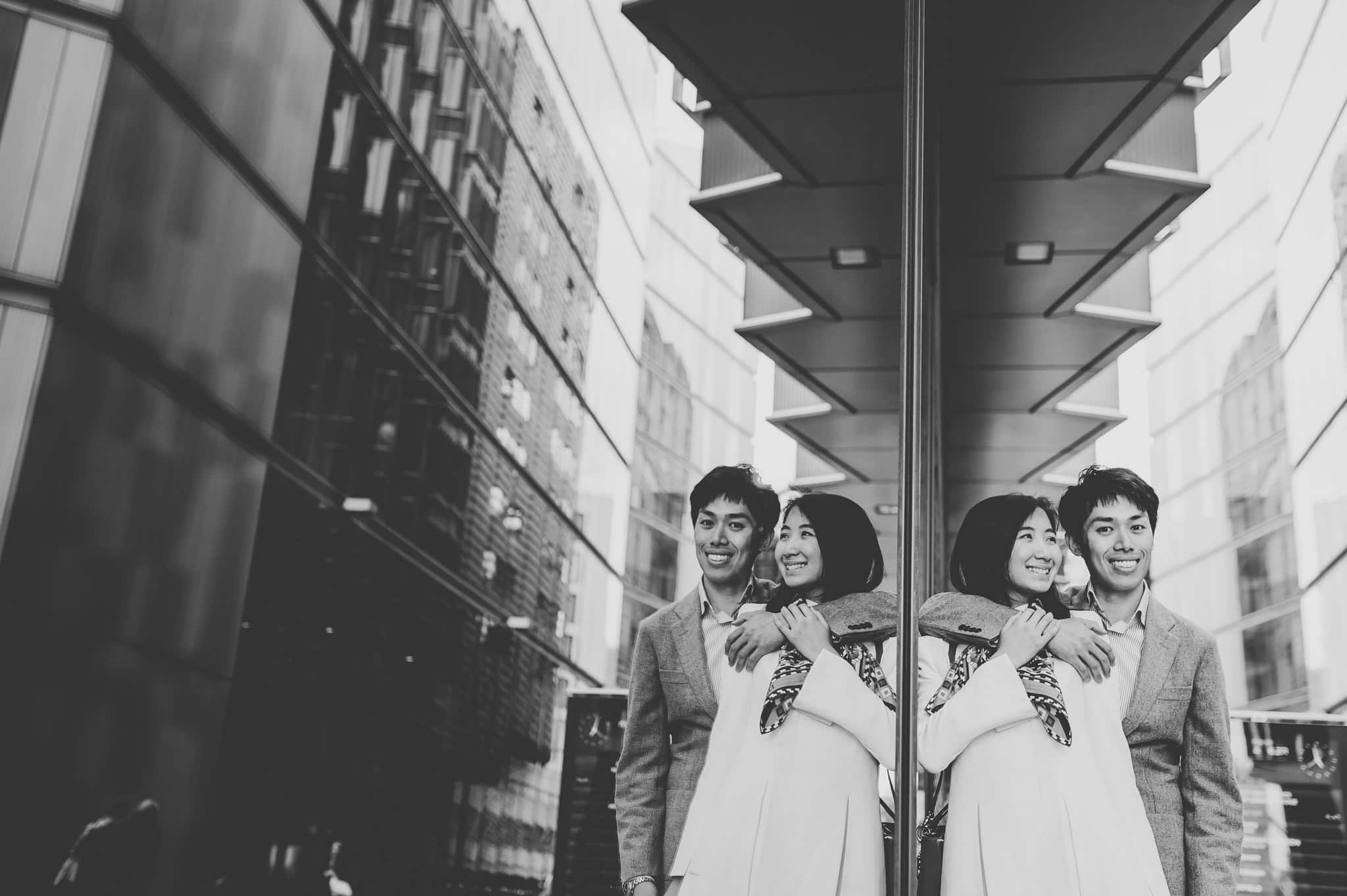 Yilin + Jason | London engagement session 14