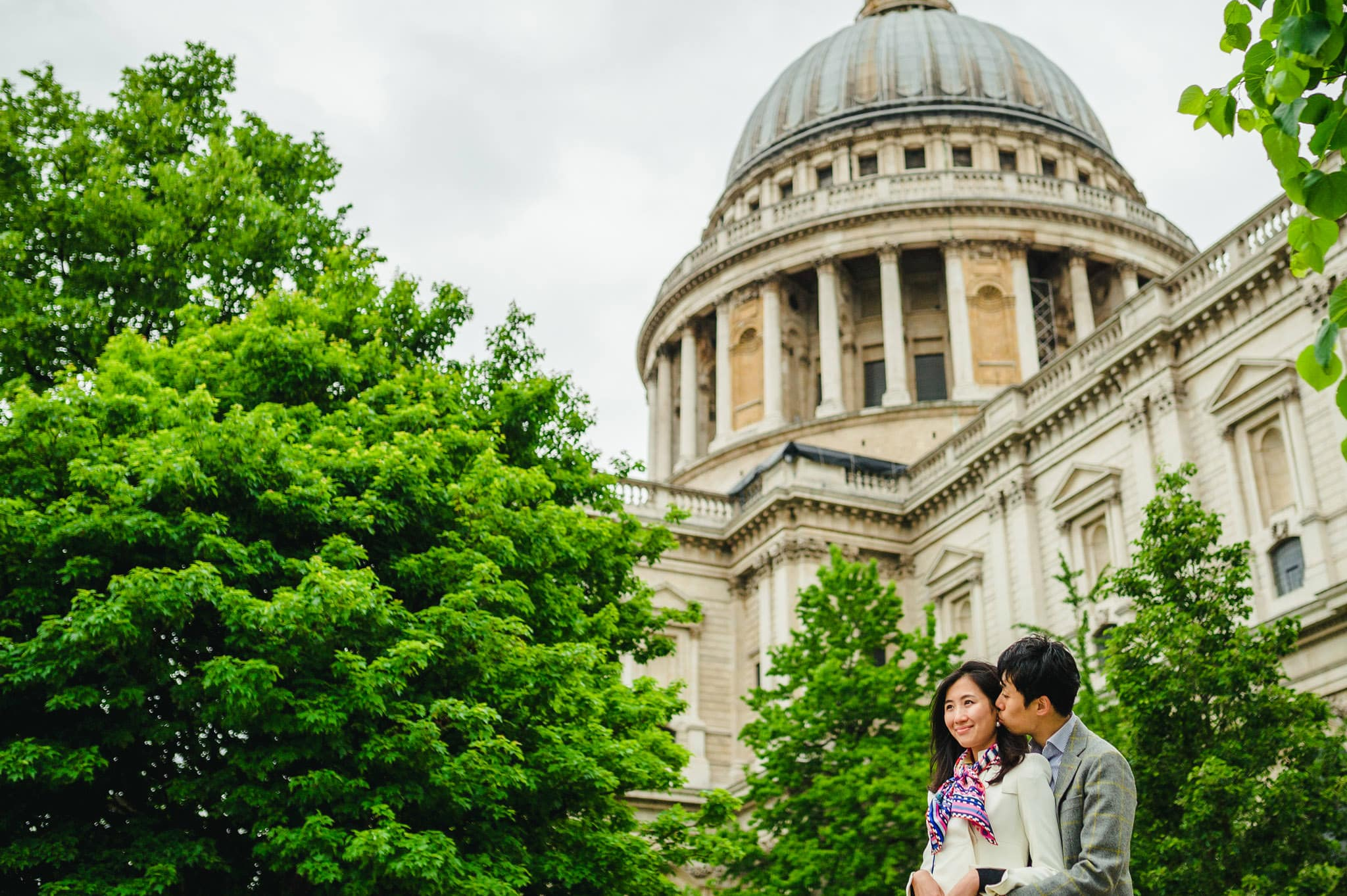Yilin + Jason | London engagement session 4