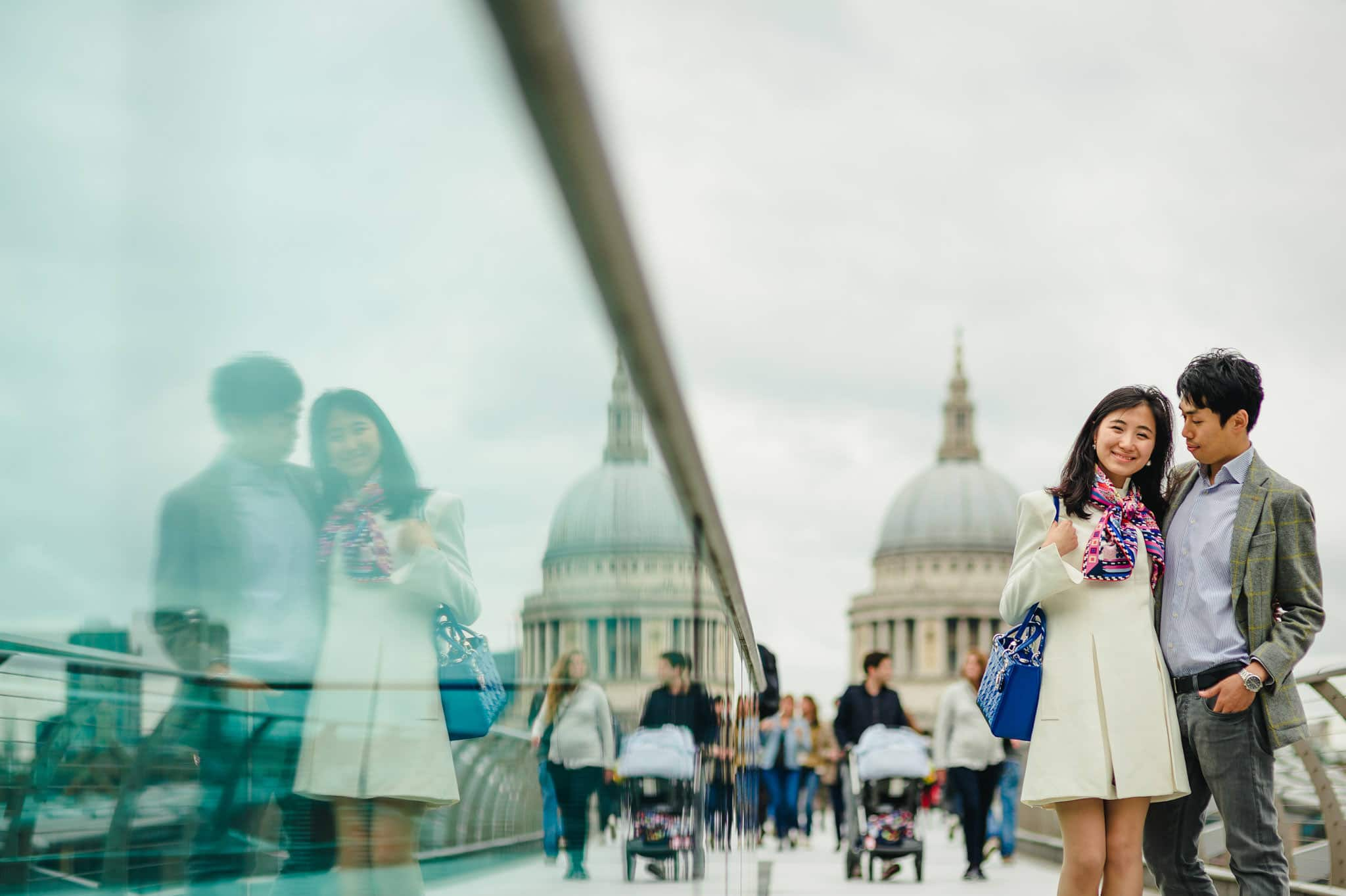Yilin + Jason | London engagement session 17