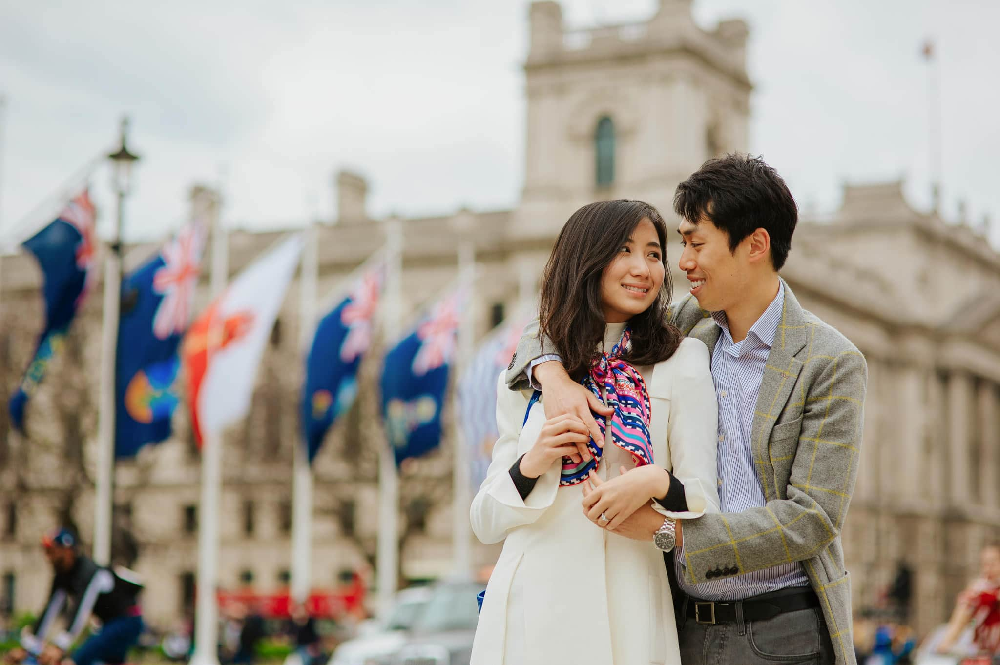 Yilin + Jason | London engagement session 5